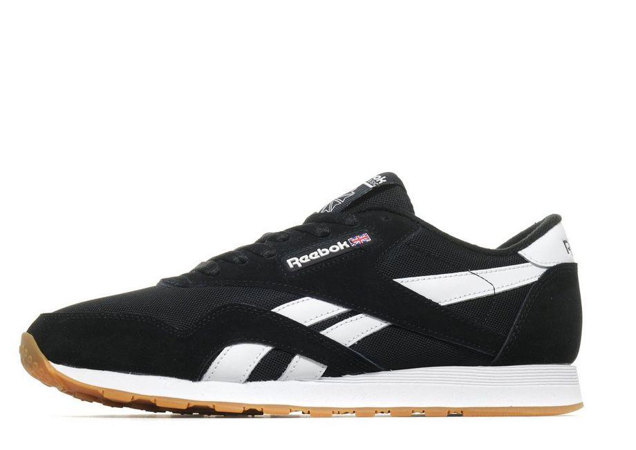 88f85a48dd7 Reebok Classic Nylon Black   White – TrainerSaver